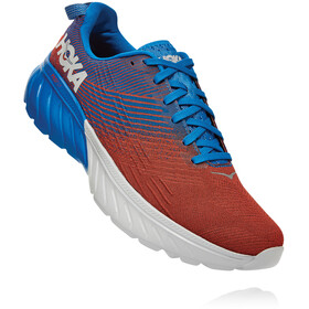 Hoka One One Mach 3 Shoes Men, imperial blue/mandarin red